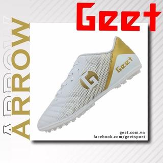 Giày bóng đá sân cỏ nhân tạo ARROW sọc thương hiệu Geet - khâu full đế thumbnail