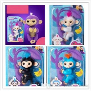 Đồ chơi khỉ con tương tác thông minh Baby Monkey Toys(đủ màu)