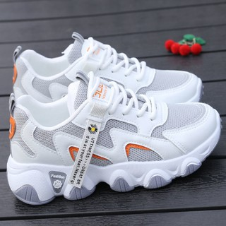 Giày Nữ2021Mùa Xuân Mới Nổ Hoang Dã Dày Chống Trượt Giày Chạy Bộ Của Phụ Nữ Sinh Viên Bình Thường Giày thumbnail