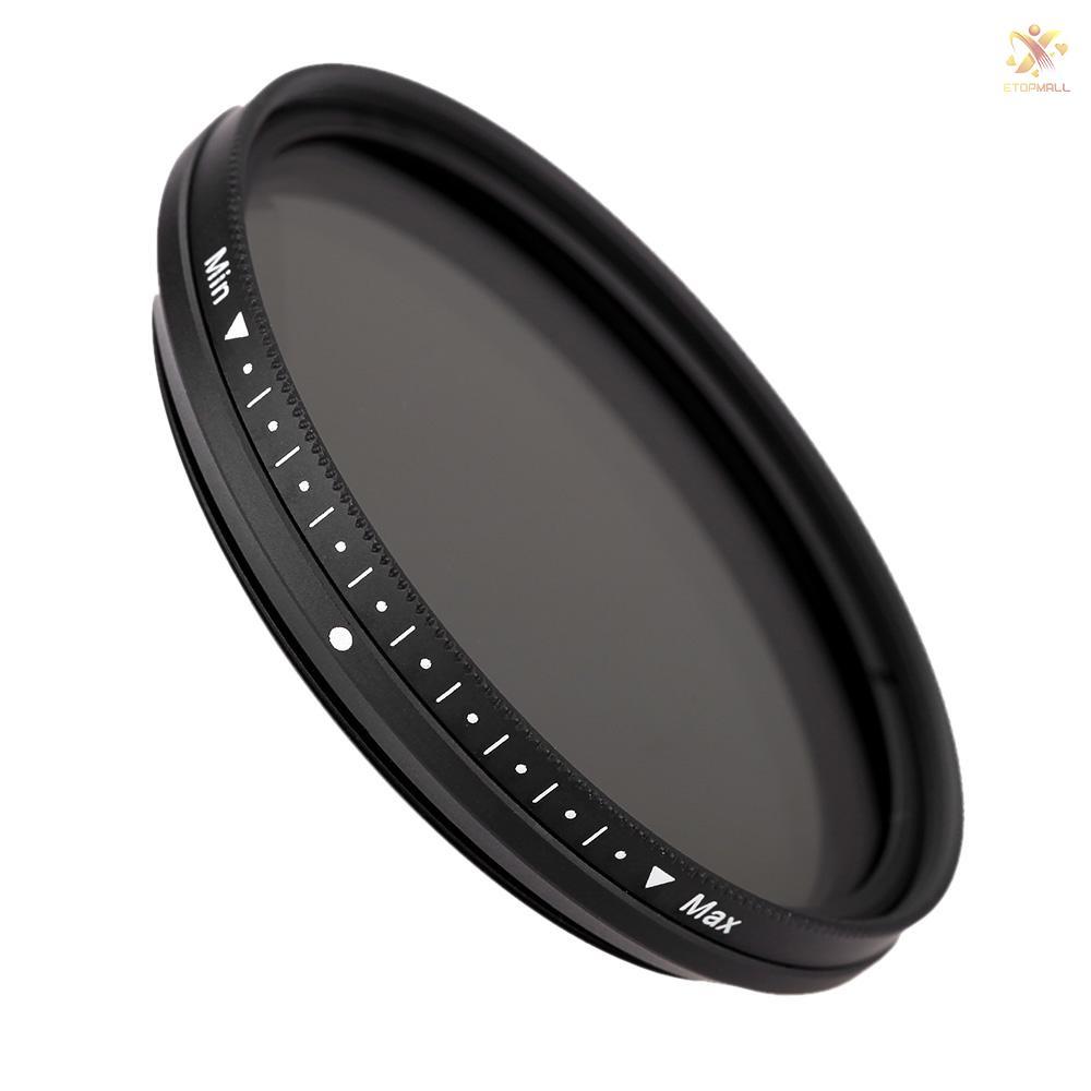 Kính Lọc Fotga 52mm Nd2 - Nd400 Cho Máy Ảnh