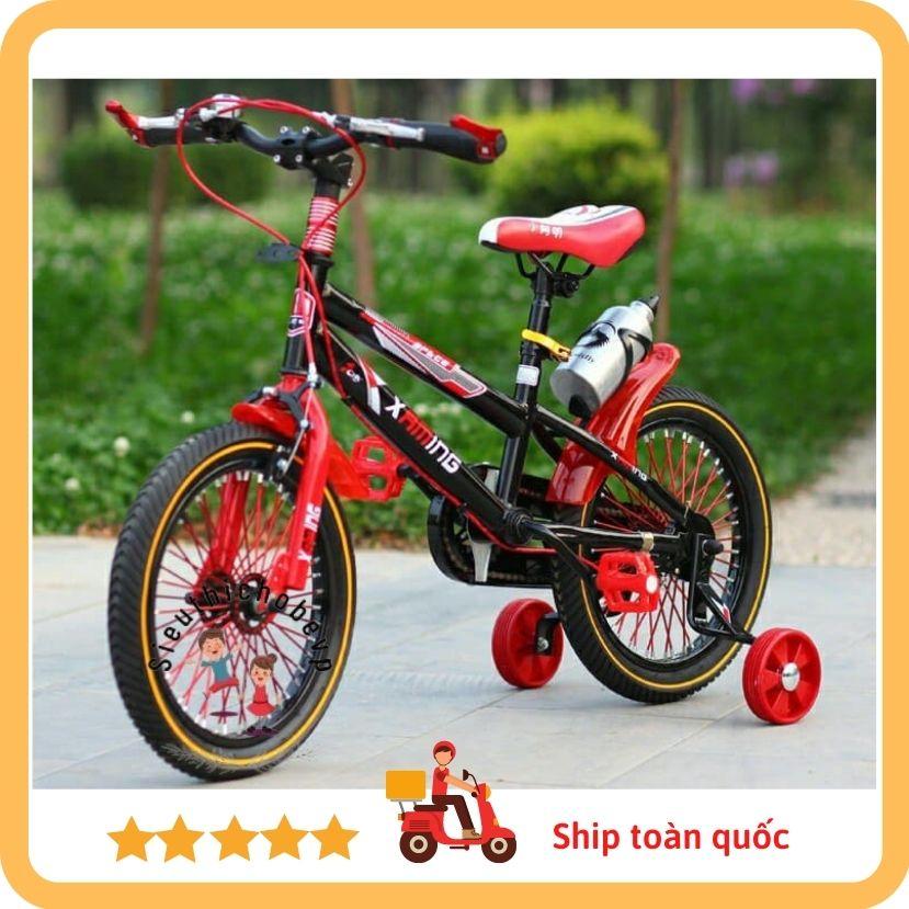 Xe đạp thể thao 12/14/16/18/20 Xaming cho bé xe địa hình leo núi