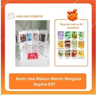 [tặng kèm mặt nạ 3D] (5ml -10ml) Nước Hoa Maison Martin Margiela Replica EDT Beach Walk - Jazz Club - Lazy Sunday thumbnail