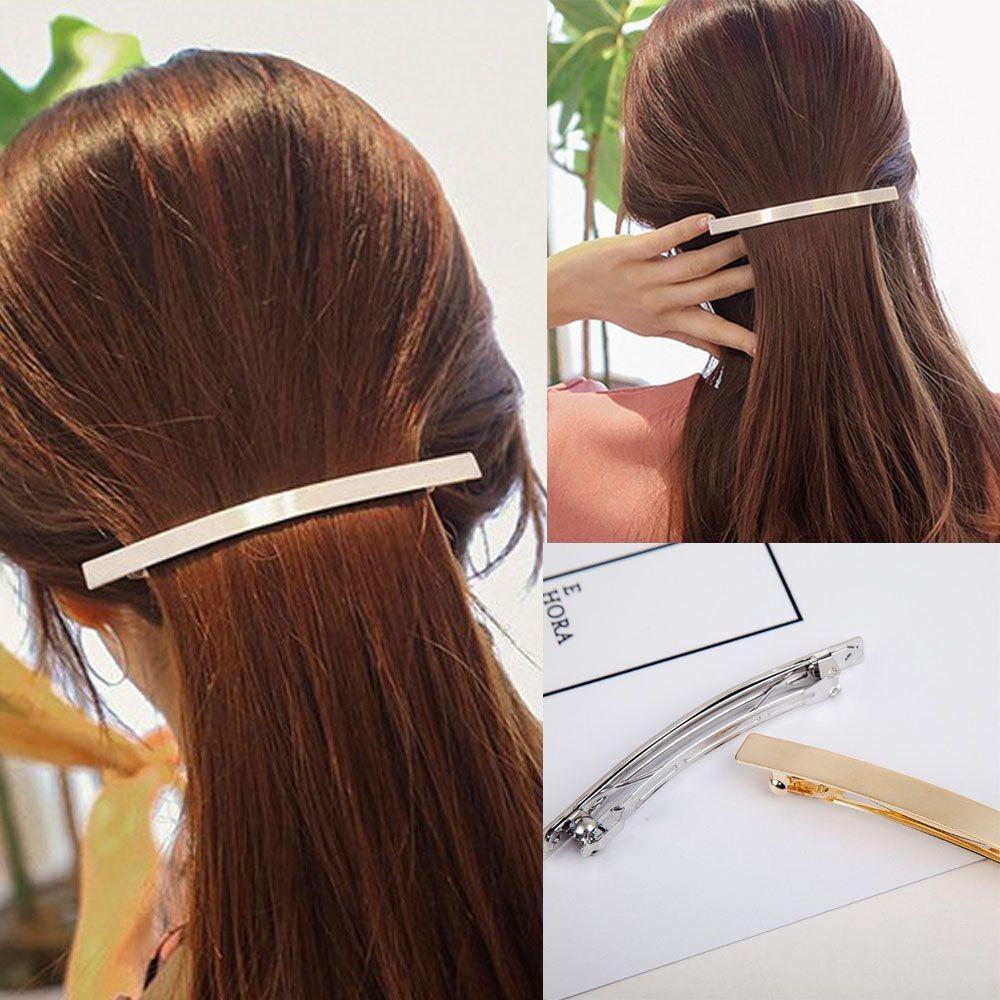 Kẹp tóc dạng thanh dài mạ vàng/bạc phong cách Hàn Quốc cho nữ - 13658133 , 1321648803 , 322_1321648803 , 28400 , Kep-toc-dang-thanh-dai-ma-vang-bac-phong-cach-Han-Quoc-cho-nu-322_1321648803 , shopee.vn , Kẹp tóc dạng thanh dài mạ vàng/bạc phong cách Hàn Quốc cho nữ