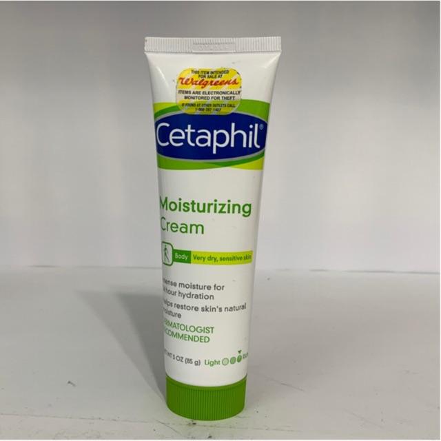 [ Hàng Mỹ ] kem dưỡng thể cho da khô, da nhạy cảm Cetaphil Moisturizing Cream 85g