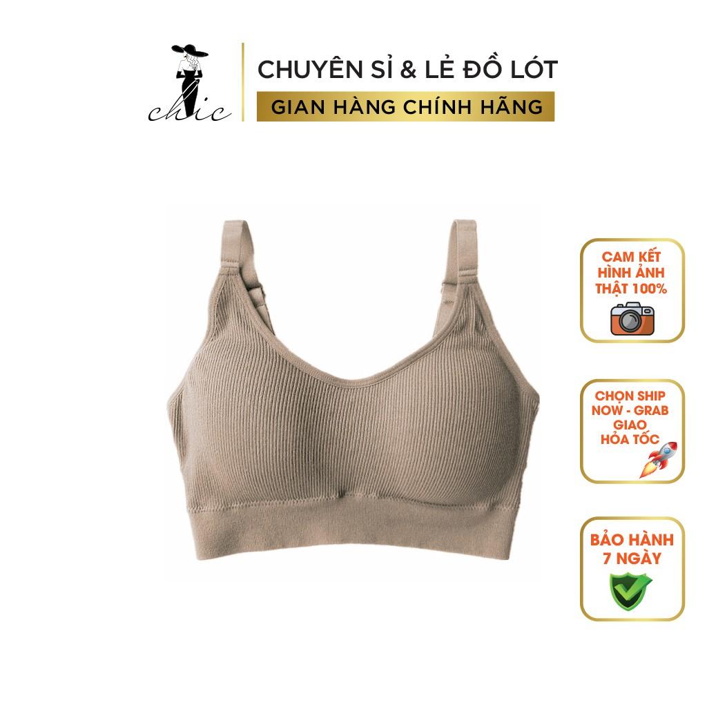 Áo bra nữ 2 dây tập gym thể thao yoga hở lưng nâng ngực sexy chất liệu cotton freesize 37-60kg S2BRA01