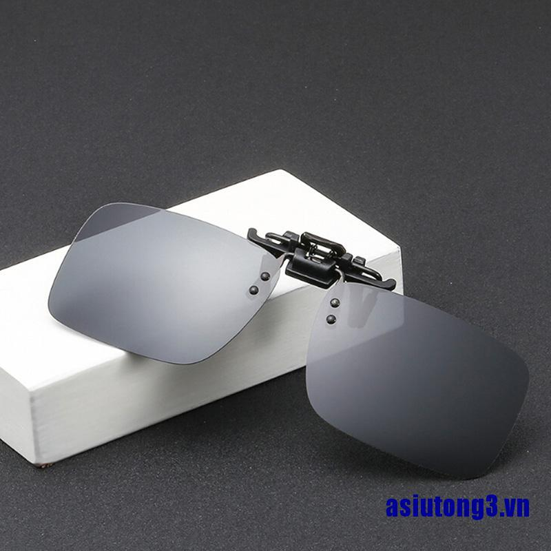 2019 New Polarized Clip Sunglasses Clips Myopia Fashion UV Protection Clips Ins