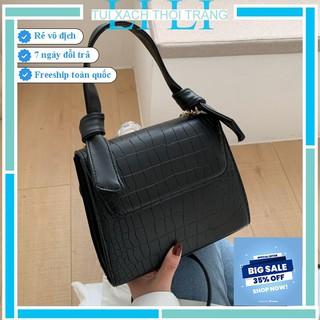 Túi xách nữ công sở [FREESHIP 50K]  Túi đeo chéo thời trang dáng công sở tay cầm thiết kế lạ mắt! TX010 (có ảnh thật)