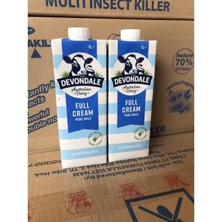 Sữa devondale 1 lít date tháng 08 2021 ( có sẵn) thumbnail