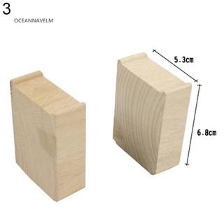 Đầu nối đường ống phụ kiện đồ chơi bằng gỗ cho bé