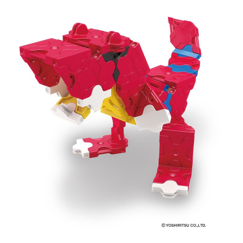 Bộ xếp hình sáng tạo tí hon LaQ Dinosaur World MINI T-REX - Chủ đề Thế giới Khủng long (Bạo chúa) 88 mảnh ghép