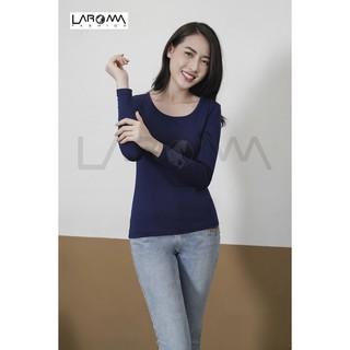 Áo giữ nhiệt nữ Laroma cổ tròn 2 Giữ ấm - Siêu đàn hồi - Khử mùi - co dãn thumbnail