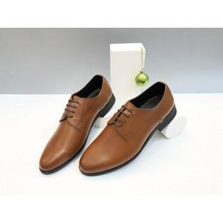 Giày buộc dây đế cao su màu nâu PN-1051
