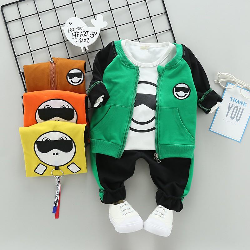 Bộ quần áo dài tay icon đeo kính cho bé trai và bé gái - 3259756 , 1351664376 , 322_1351664376 , 70000 , Bo-quan-ao-dai-tay-icon-deo-kinh-cho-be-trai-va-be-gai-322_1351664376 , shopee.vn , Bộ quần áo dài tay icon đeo kính cho bé trai và bé gái