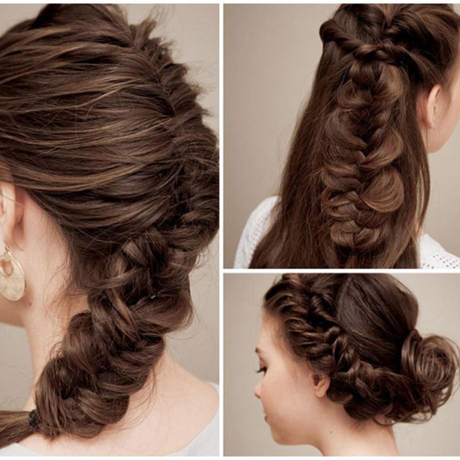 [HOT] phụ kiện tóc-Khuôn tạo kiểu bện tóc nữ - SIÊU BỀN