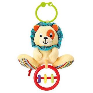 Đồ chơi thú bông xúc xắc treo cũi sư tử Winfun 0118 - đồ chơi kích thích thị giác, tư duy màu sắc cho trẻ sơ sinh thumbnail