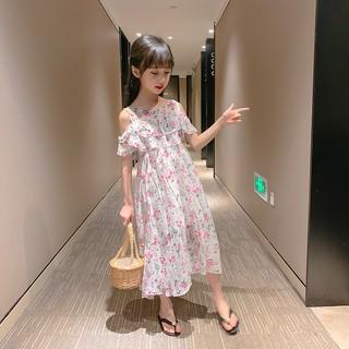 Váy maxi cho bé , đầm bé gái hoa nhí dễ thương mã 103 cho bé gái từ 13kg-50kg