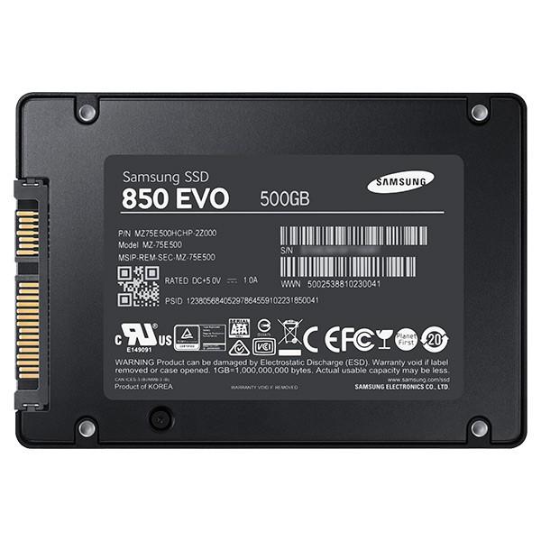 Ổ cứng SSD Samsung 850 EVO 2.5-Inch SATA III 500GB