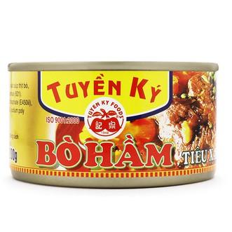 Bò hầm Tuyền Ký hộp 200g - 2534666 , 654305943 , 322_654305943 , 39000 , Bo-ham-Tuyen-Ky-hop-200g-322_654305943 , shopee.vn , Bò hầm Tuyền Ký hộp 200g