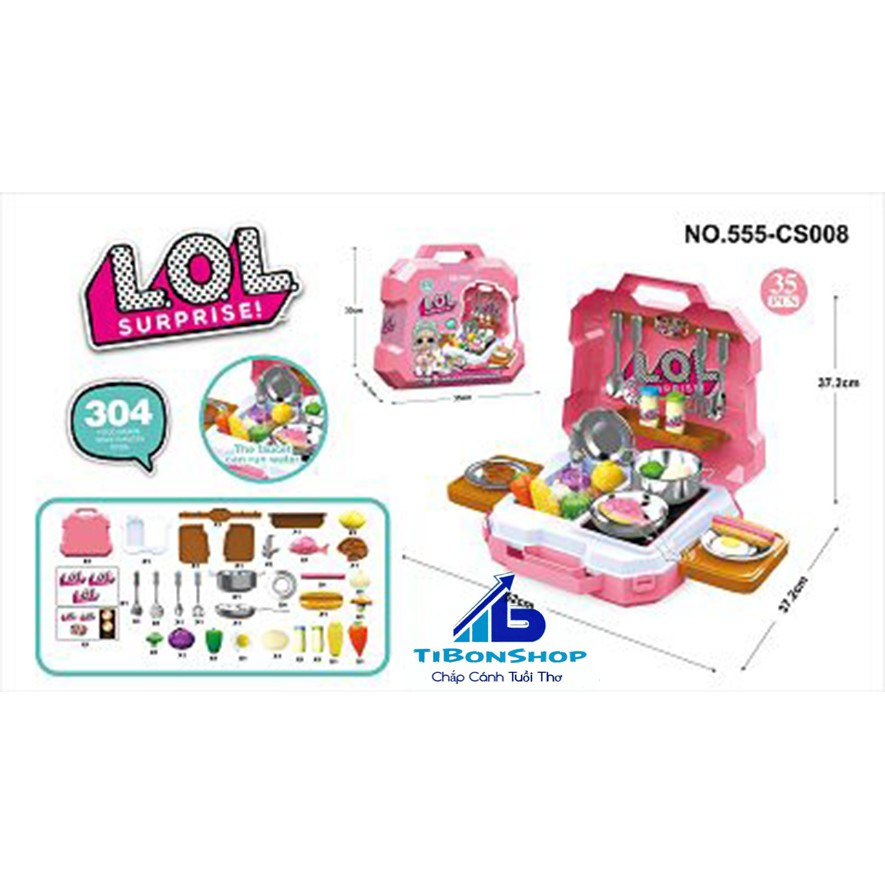 Vali bếp LoL 555-CS008
