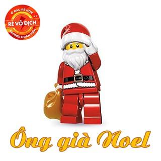 LEGO Minifigures Ông Già Noel – Nhân Vật LEGO Santa Claus