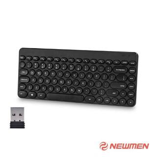 Bàn phím không dây Newmen BT928 (Wireless Black)