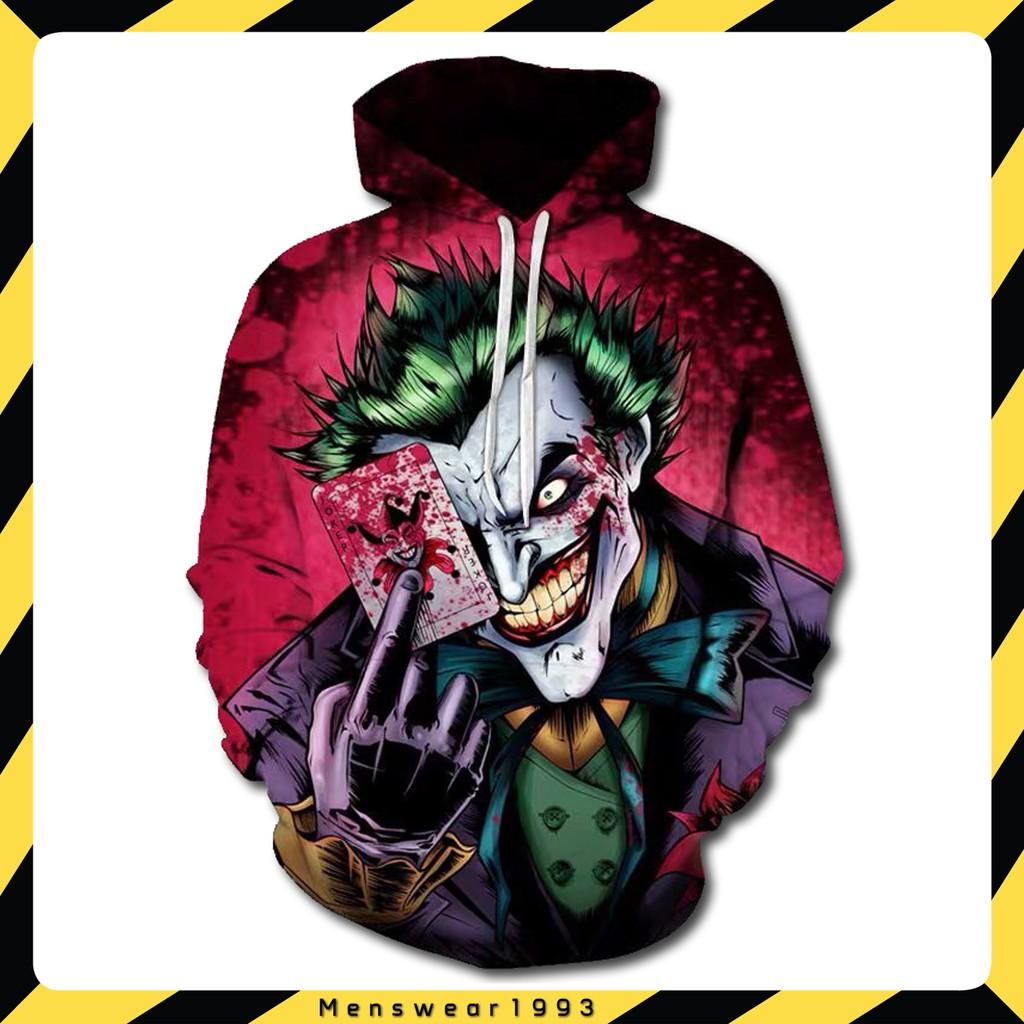[FREE SHIP+ Ảnh thật] Áo Joker 3D Siêu chất. Áo thun, Áo hoodie - Áo khoác nỉ
