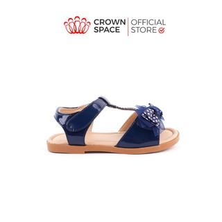 Xăng đan Bé Gái Đi Học Đi Chơi Crown Space UK Princess Sandal Trẻ Em Cao Cấp CRUK7016 Nhẹ Êm Thoáng Size 25-32 4-14 Tuổi