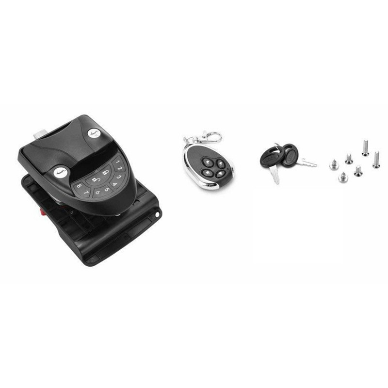 ★New★Rv Keyless Entry Latch Handle Knob Remote Control Camper Trailer Door Lock