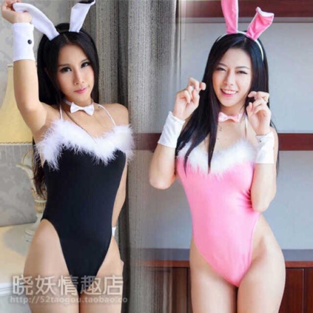 Cosplay thỏ sexy nóng bỏng - có ảnh thật CT01