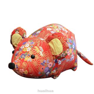 Holiday Desktop Stuffed Soft Party New Year Kids Children Home Decor Mouse Plush Toy