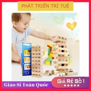 Đồ chơi rút gỗ luyện trí thông minh 54 thanh mini cho bé (Đồ Chơi Trẻ Em)