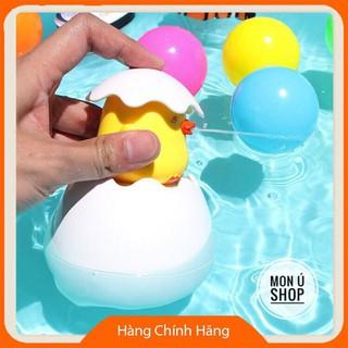 [Hỗ trợ giá] [ĐƯỢC CHỌN MÀU] Trứng vịt phun nước tạo mưa | Đồ chơi nhà tắm thú vị cho bé