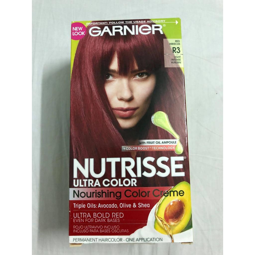 Thuốc Nhuộm Garnier Nutrisse Utra Color R3 Shopee Việt Nam
