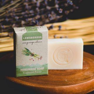 (2021) XÀ PHÒNG SẢ CHANH GREEN GARDEN- GREEN GARDEN LEMONGRASS HANDMADE SOAP thumbnail