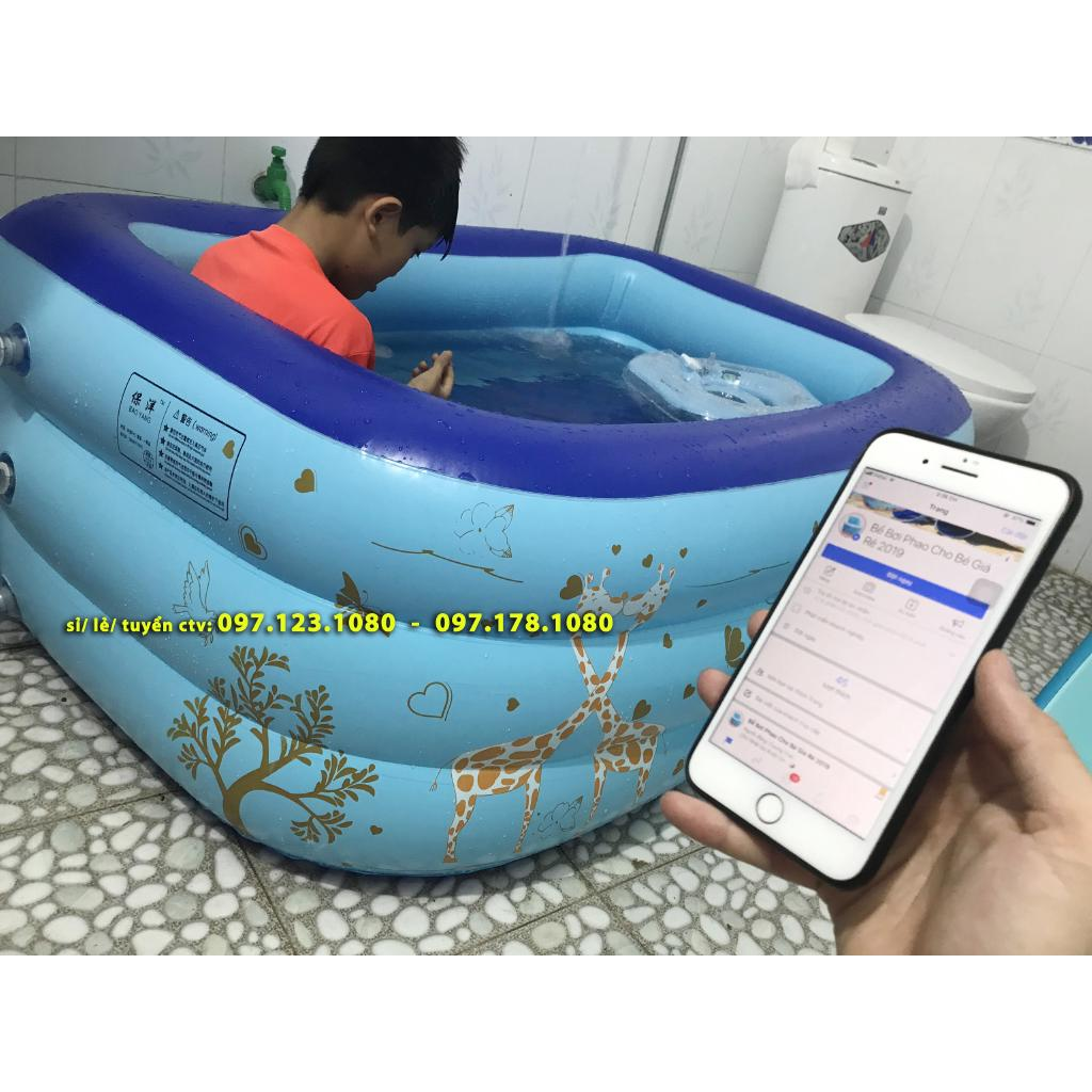 Bể bơi 3 tầng 1m5 – Loại 1 – Toàn bộ ảnh video tự chụp