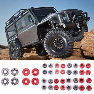 ღTAY SCX10 RC Car Parts 4pcs Wheel Hex Hub Extension Adapter Longer Combiner