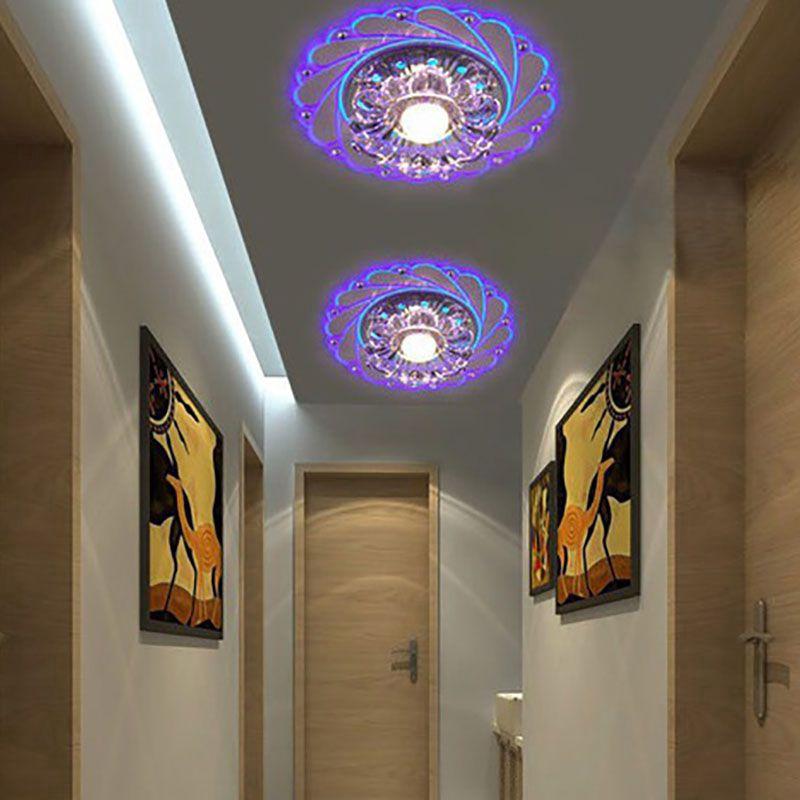 【Ready Stock】Đèn LED Ốp Trần Trang Trí Phòng Khách Hiện Đại - Đèn trần trang trí phòng khách, phòng ngủ
