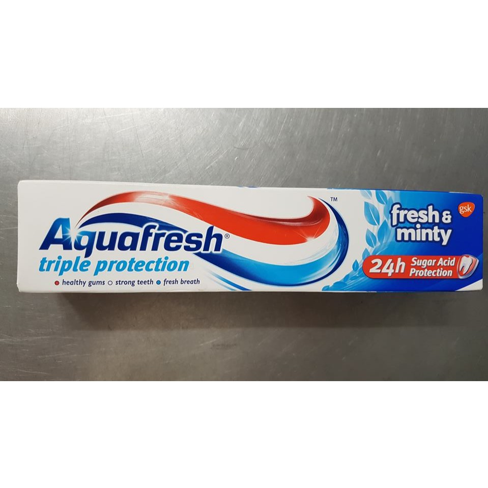 Kem đánh răng Aquafresh triple Protection fresh & minty 100ml - 3115059 , 1254517219 , 322_1254517219 , 32000 , Kem-danh-rang-Aquafresh-triple-Protection-fresh-minty-100ml-322_1254517219 , shopee.vn , Kem đánh răng Aquafresh triple Protection fresh & minty 100ml