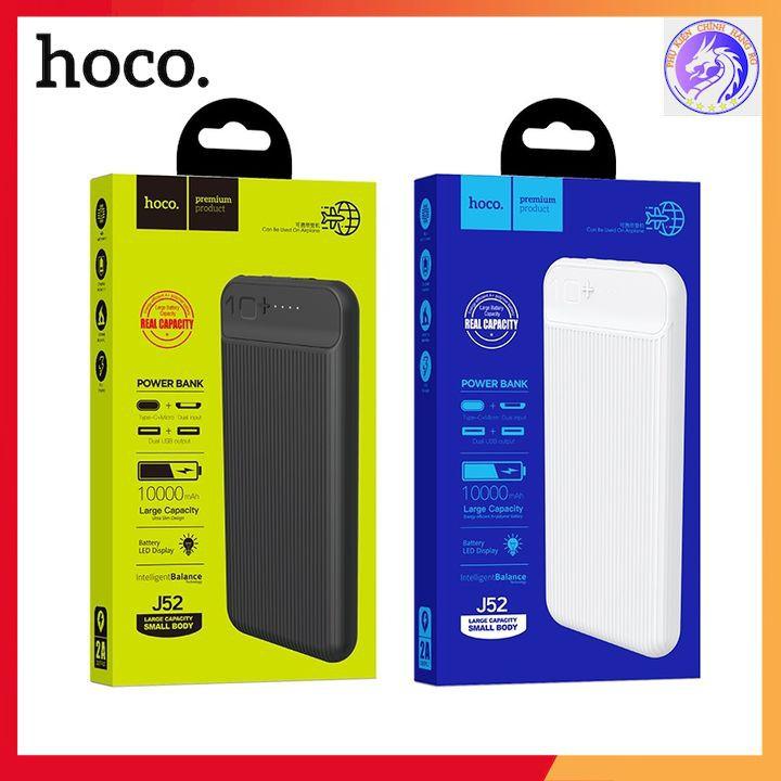 Sạc Dự Phòng 10000 Mah Hàng Chính Hãng Hoco J52/ Hoco J72 - Bảo Hành 12 Tháng