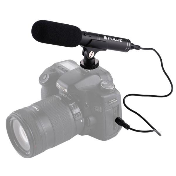 Mic thu âm cho máy ảnh và máy quay phim Nikon / Canon Puluz - 3548882 , 1208278859 , 322_1208278859 , 900000 , Mic-thu-am-cho-may-anh-va-may-quay-phim-Nikon--Canon-Puluz-322_1208278859 , shopee.vn , Mic thu âm cho máy ảnh và máy quay phim Nikon / Canon Puluz