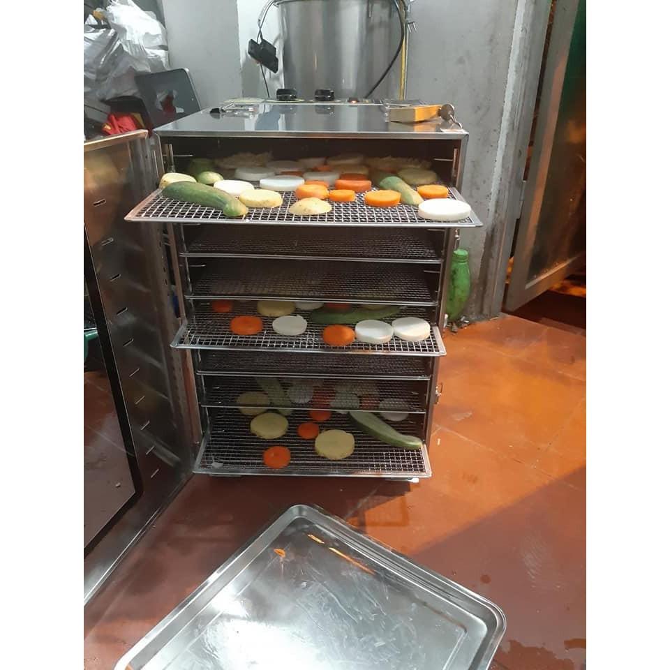 Máy sấy thực phẩm sấy hoa quả khô giá rẻ 10 tầng