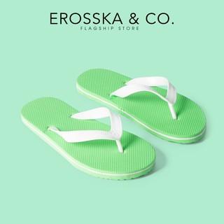 Dép kẹp xỏ ngón in hình dễ thương Erosska - DK015
