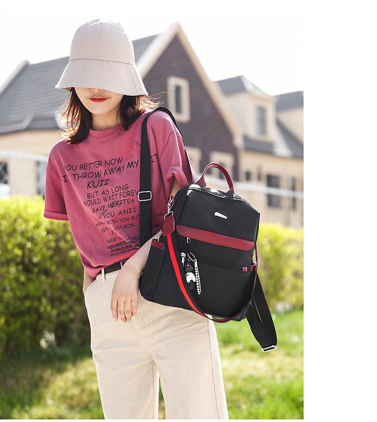 Ba Lô Phụ Nữ 2020Mới Phiên Bản Hàn Quốc Vải Oxford Ba Lô Nhỏ Phụ Nữ Hoang Dã Thời Trang Túi Vải Gói