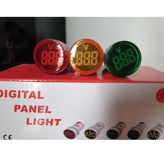 Đèn báo pha phi 22 có hiện thị điện áp