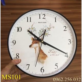 Đồng hồ treo tường kim trôi cao cấp