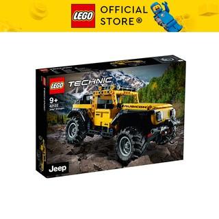 LEGO TECHNIC 42122 Xe Địa Hình Jeep Wrangler ( 665 Chi tiết)