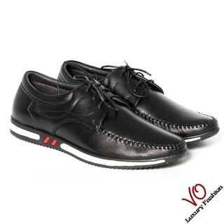 Giày mọi da bò thật màu đen trẻ trung VO Shoes_2997 thumbnail