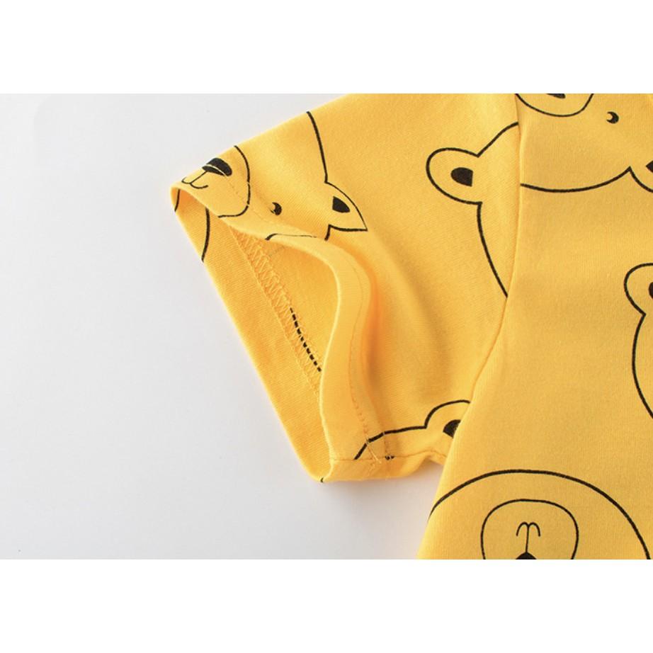 HÈ 2021 Áo thun mùa hè phong cách thời trang HÀN QUỐC cho bé gái 27HOME chất cotton mát lạnh cho bé gái thích elsa pony