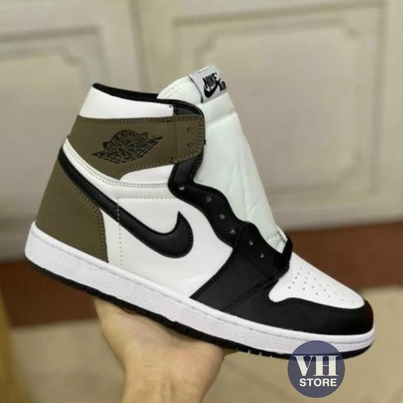 Giày Air Jordan 1 Retro High Dark Mocha, Giày JD 1 Dark Mocha Full size nam nữ