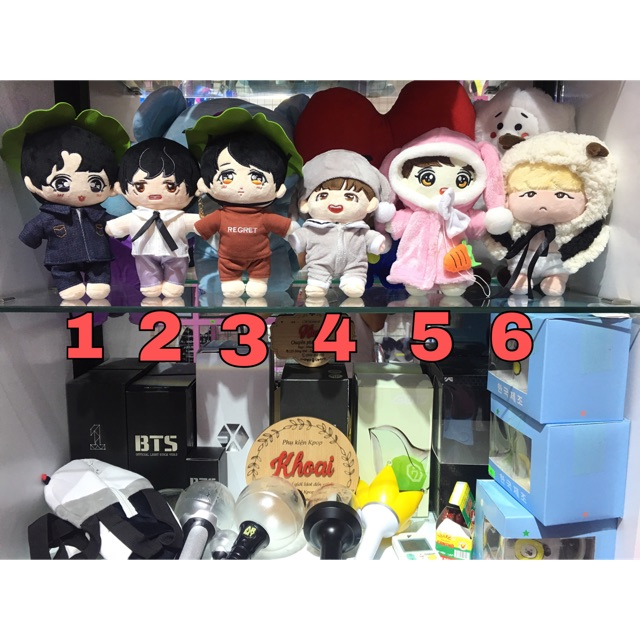 [CÓ SẴN] Doll V/Jungkook/Jimin/Suga/J-Hope kèm outfit - 3579067 , 1311444892 , 322_1311444892 , 380000 , CO-SAN-Doll-V-Jungkook-Jimin-Suga-J-Hope-kem-outfit-322_1311444892 , shopee.vn , [CÓ SẴN] Doll V/Jungkook/Jimin/Suga/J-Hope kèm outfit